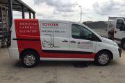 Nuovo allestimento furgone per un nostro affezionato cliente: EUROCARRELLI.