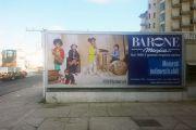 Tabelloni pubblicitari per Barone, strumenti musicali